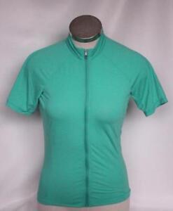 New Specialized Women's SL Merino Jersey Cycling Bike Medium Green Short Sleeve