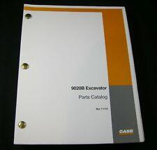 CASE 9020B Excavator Crawler Tractor Parts Manual Book Catalog List 7-1151