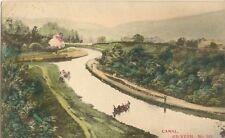 GILWERN NEAR ABERGAVENNY  BRECON CANAL  pu EBBW VALE 1905