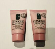NEW_CLINIQUE All About Clean Rinse-off Foaming Cleanser  2 x 30ml = 60ml