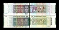 Brésil - 2x  500, 500 Cruzeiros - Edition 1972 - 1980 - Reproduction -11
