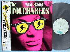 THE UNTOUCHABLES Wild Child VIL-6194 JAPAN LP w/OBI 100az21