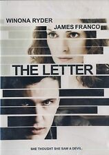 BRAND NEW DVD // The Letter // WINONA RYDER, JAMES FRANCO