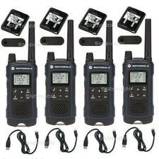Motorola Talkabout T460 Walkie Talkie 4 Pack Set 35 Mile Two Way Radio