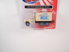 HO Scale C M W #30417 60 Ford refrigerated Box Truck-City Ice Co