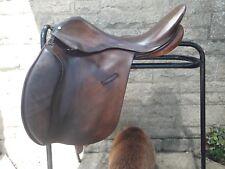 La Havane English Leather General Purpose Saddle 17.5 in (environ 44.45 cm)