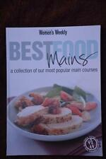 WOMENS WEEKLY ~Best Food Mains Main Meals Cookbook~ GR8 RECIPES