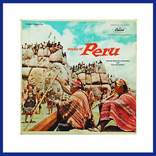 """Vicente Bianchi's Orchestra And """" Los Jaranistas """" Music Of Peru Record."""