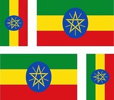 ETHIOPIA FLAG  DRAPEAU sticker bumper decal tablet pc car autocollant