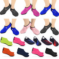 Water Shoes Slip on Aqua Skin Socks Yoga Men Women Exercise Pool Swim Surf Beach