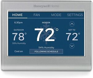 Honeywell Home RTH9585WF1004 Wi-Fi Smart Color Thermostat, 7 Day Programmable To