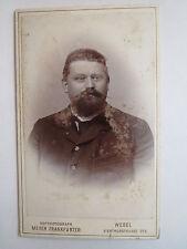 Wesel - Mann im Anzug - Portrait / CDV