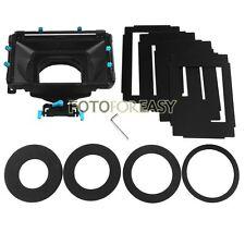 FOTGA DP3000 Pro Matte Box w/ 4:3 16:9 Ratio Mask + Donuts for 15mm Rod DSLR Rig