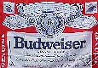 Budweiser Beer  RV NASCAR Toy Box Trailer Flag #R-0017