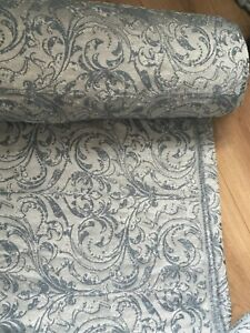 """Luxury Heavy Curtain meter-ONLY £19.99 DOUBLE WIDE-Upholster Jacquard 280cm/118"""""""