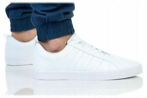 ADIDAS VS PACE WHITE MEN STYLE NEW CLASSIC TRAINERS SNEAKERS SHOES GENUINE