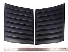 MATTE BLACK BONNET VENT SCOOP COVER TRIM FOR NEW FORD RANGER T6 2012-2014 V.3