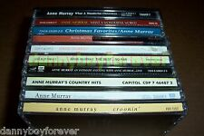 Anne Murray 13 CD Lot Christmas Country Gospel Christian Inspirational 184 Songs