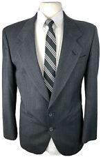 Nino Cerruti Men's 38S Gray Stripe Wool Blazer Sport Coat Suit Jacket