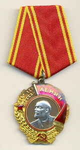 Soviet Russian USSR Order of Lenin s/n 327723