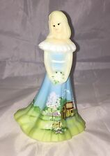 Fenton Art Glass Summer Home Bridesmaid Doll Limited Edition #4 of 15