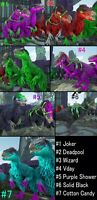 Ark Survival Evolved Xbox One PvE Yuty | Yutyrannus Color x7 Variety Egg Pack