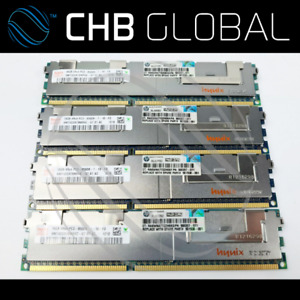 128GB 8 x 16GB DDR3 1066 PC3-8500R 4Rx4 ECC Reg DIMM RAM DL360 DL380 DL580 G6 G7