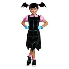Toddler Girls Vampirina Classic Halloween Costume Gloves Headpiece~Small 4-6X