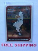 2008 Bowman Chrome Card #102 Justin Verlander MLB Detroit Tigers