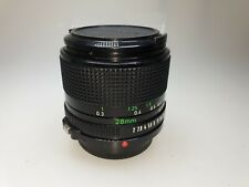 Canon FD 28mm 1:2 Objektiv Canon FD Anschluss