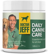Dr. Jeff's Daily Canine Care - Vet-Formulated Powder Supplement for Dogs