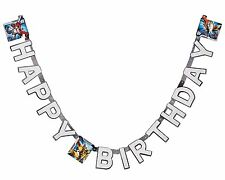 Transformers Birthday Party Banner 7.59 Ft Long Boys New 2014