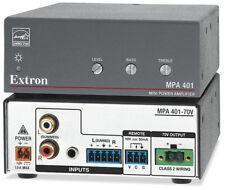 Extron 70 Volts mono compact amplifier MPA-401-70V