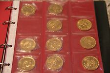 Egypt Gold Coin - Collection of 35 gold coins