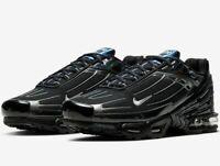 Nike Air Max Plus 3 III Tuned Tn - Black / Iridescent - Sizes 6-12UK CW2647-001
