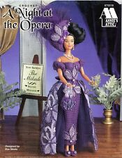 Annie's Attic Crochet A Night at the Opera Pattern Leaflet #870518 for Barbie