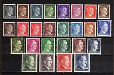 1788-GERMAN EMPIRE-1941-45.WWII.Adolf HITLER.Mich 781-798 MNH** Deutsches Reich