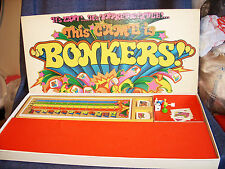 "Vintage ""This Game Is Bonkers!!!"" Game 1978 Parker Brothers Complete GUC"