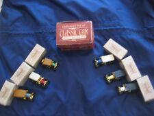6  Classic Car Miniatures, with Description Sheet and Original Boxes