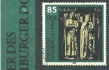 DDR 1983 Naumburger Dom  Plattenfehler 2811 f22 (E von NAUMBURGER eingekerbt)