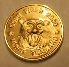 Cope Tiger 2000 (1st one) Korat Thailand multi-lateral excercise Challenge Coin