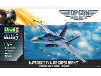 Revell Top Gun Maverick's F/A-18E Super Hornet 1/48 Scale Plastic Model Kit 5871