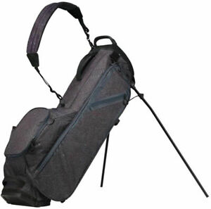 """Taylor Made Flextech Lite Lifestyle Stand Bag (9.5"""", 4-way, Tweed)  Golf NEW"""
