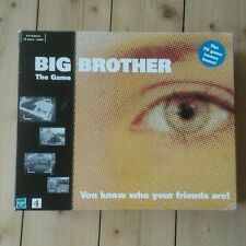 unused Hasbro BIG BROTHER The Game. 2000 board game for 4-6 players. Age 16+.
