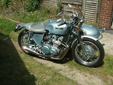 Motorcycle & Sidecar Bsa-Four Special