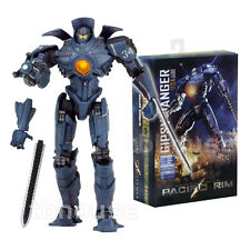 "7"" GIPSY DANGER figure ULTIMATE EDITION light-up PACIFIC RIM jaeger robot NECA"