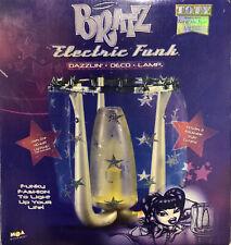 Bratz Fashion 2003 Electric Funk Dazzlin Decor Lamp New Box Glitter Curtain 12in