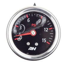 Redhorse Fuel Pressure Gauge 5001-15-3; Fuel Pressure 0-15psi Full Sweep