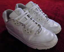 Nike Air Max 90 Running Sneakers Size 9.5 White 302519-113 Athletic Shoes