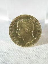 Pièces de monnaie françaises de 20 francs sur Napoléon